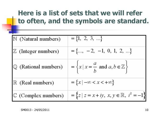 Mathematics Sets And Logic Week 1