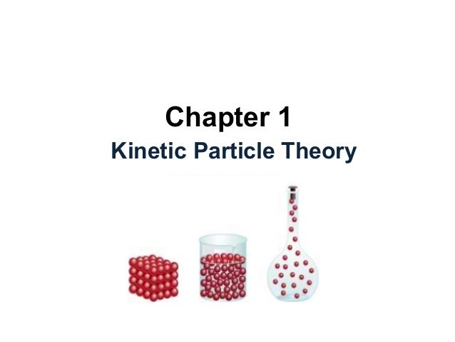 Chapter 1 Kinetic Particle Theory