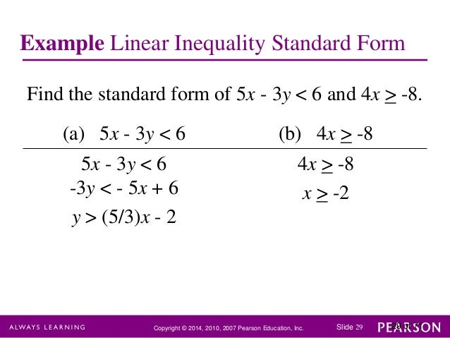 Writing And Graphing Linear Inequalities Day 2 Lessons Tes Teach