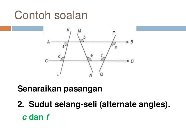 Chapter 1 Lines Angles