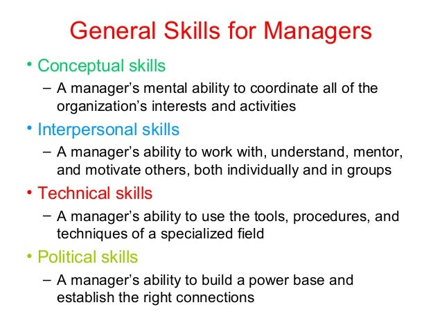 SKILLS OF A MANAGER PDF DOWNLOAD