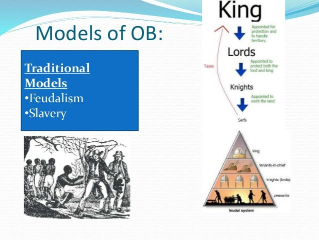 Organizational Behavior - Models