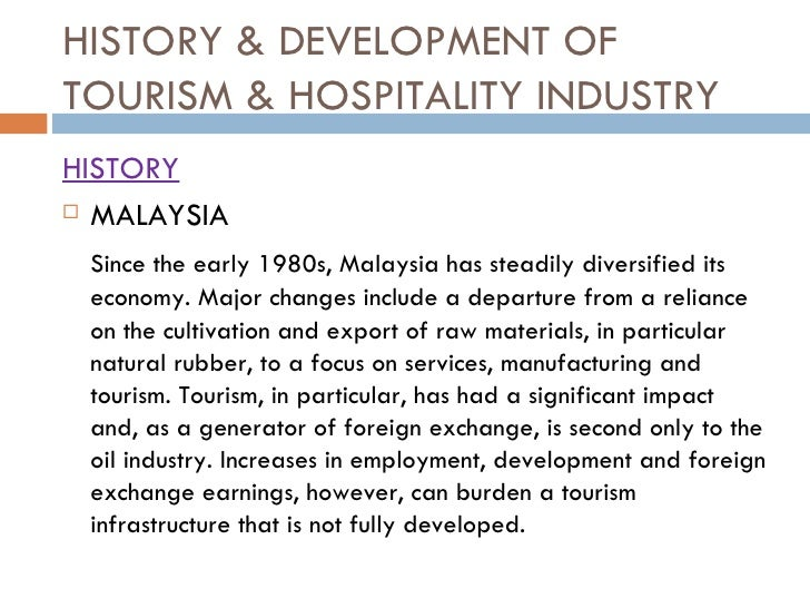 overview of hospitality and tourism industry