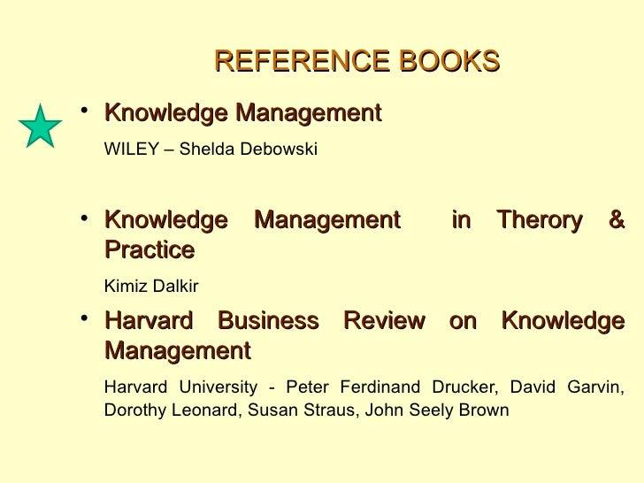 Shelda debowski knowledge management