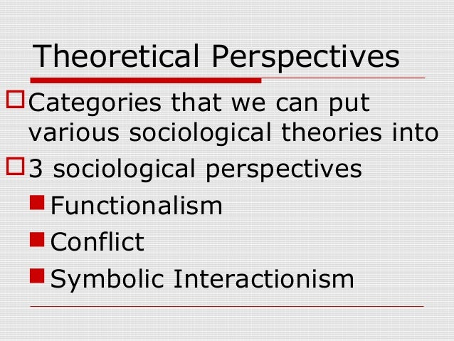 chapter 1 the sociological perspective Unit 11 explain what the sociological perspective is understand how both history and biography are essential elements of the sociological pers.