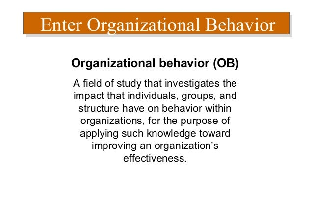 traditional disciplines in organizational behavior The purpose of discipline is correct behaviour it is not designed to punish or  embarrass an employee often, a positive approach may solve the problem  without.