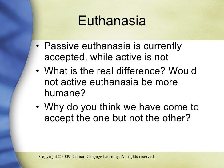 an introduction to the positive effects of euthanasia mercy killing Euthanasia presentation  euthanasia in the netherlands it is the first country where euthanasia has been allowed  an introduction to law of.