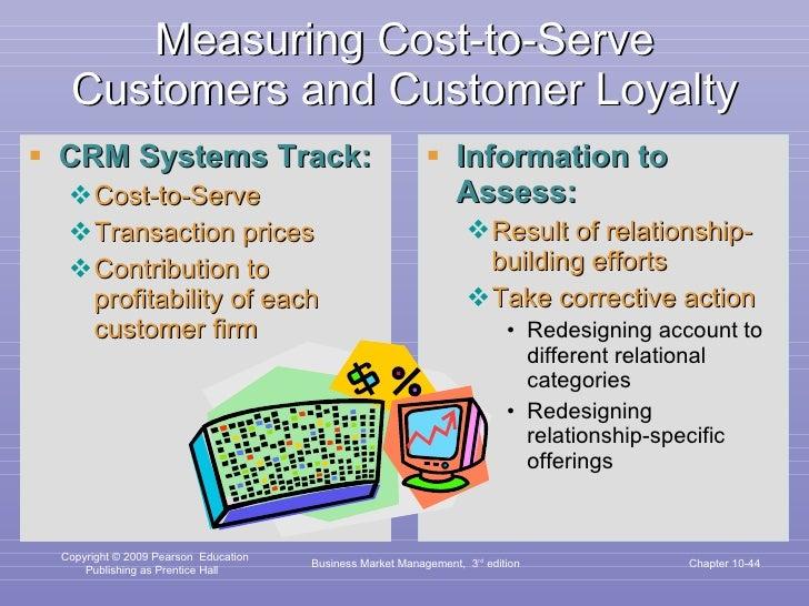 Measuring Cost-to-Serve Customers and Customer Loyalty <ul><li>CRM Systems Track: </li></ul><ul><ul><li>Cost-to-Serve </li...