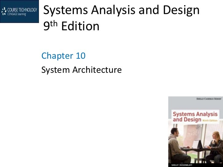 Systems Analysis and Design9th EditionChapter 10System Architecture