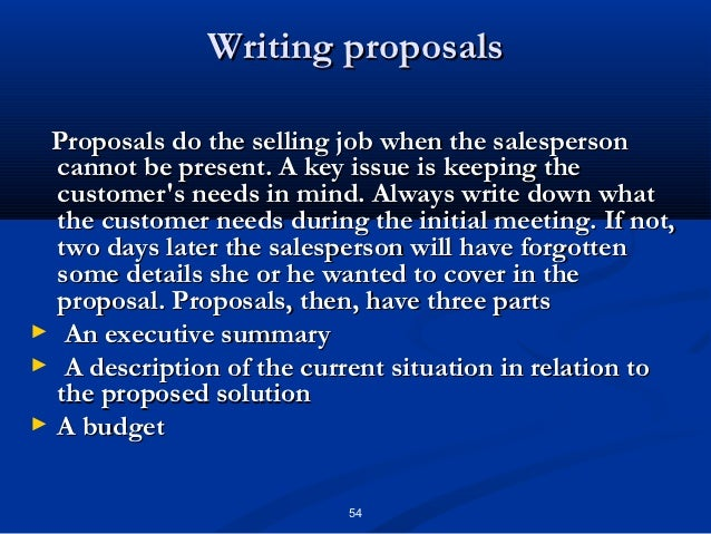 Personal Selling Chapter 10