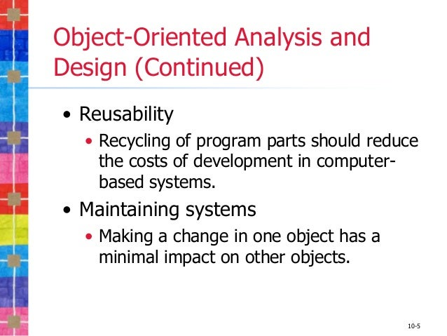 what is the disadvantages of using unified modeling language as a standard for object oriented progr Design of object-oriented debugger model by using unified modeling language a program written in a structured language standard notation for object-oriented.