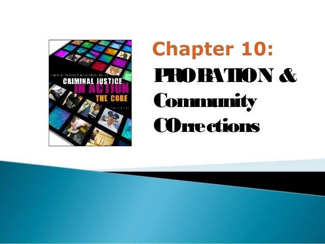 PROB ION &     ATCommunityCOrrections
