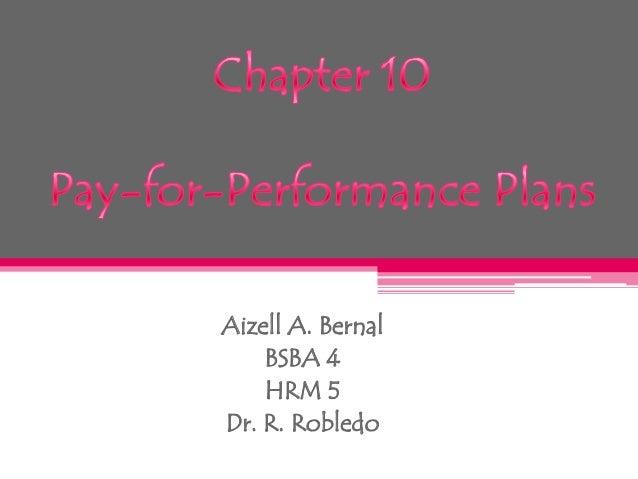 Aizell A. Bernal BSBA 4 HRM 5 Dr. R. Robledo