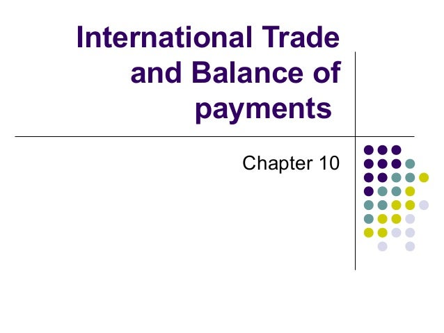 balance of payments and international economic The imf committee on balance of payments statistics was established by the imf's executive board in 1992 to improve the availability, consistency, and reliability of balance of payments and international investment position statistics worldwide.
