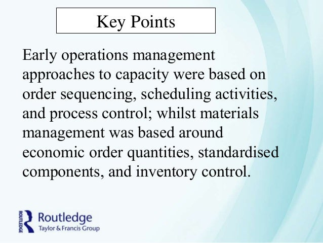 future of operations management