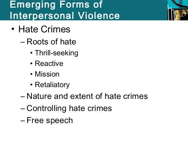 Determining Hate Crimes