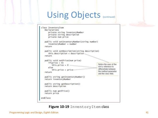 CIS110 Computer Programming Design Chapter (10)