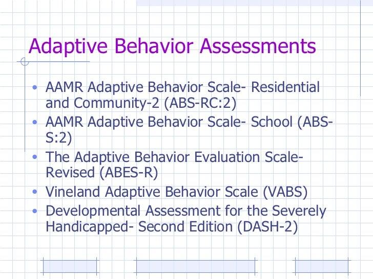 Chapter 10 assessment of behavior