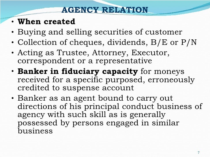 Different forms of Banker Customer Relationship in Banking