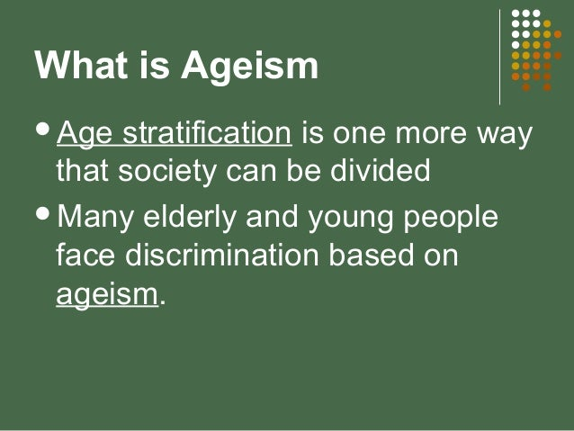 Facts About Age Discrimination