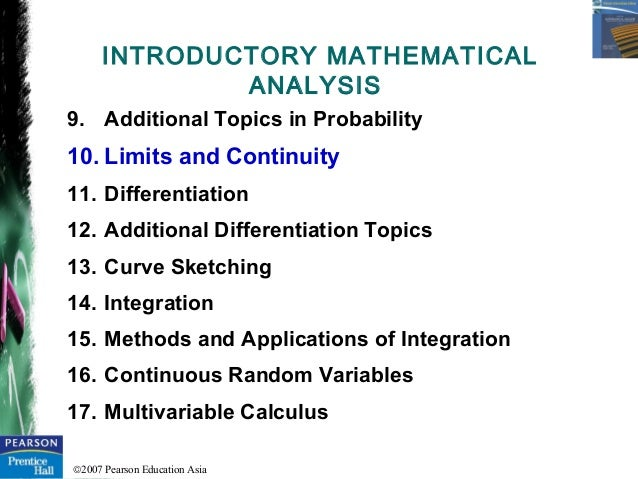 review 1 limits continuity pcalc to Limits are the most fundamental ingredient of calculus  learn formal definition  of limits part 1: intuition review  worked example: continuity at a point.