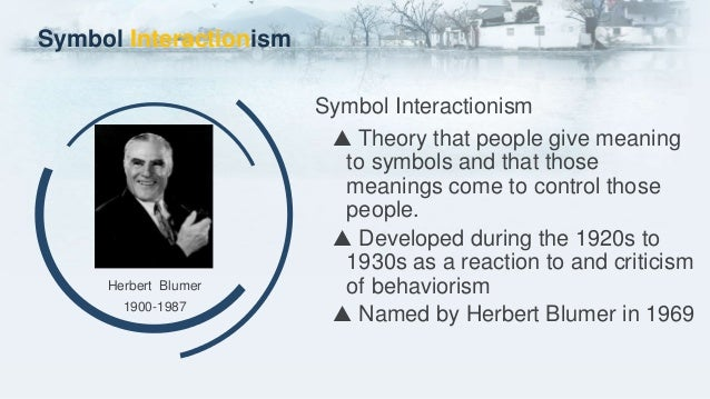 Chapter 10 Symbolic Interactionism And Social Constructionism Toby Z