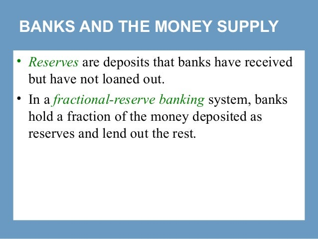 money and banking chapter 2 Chapter 1 money chapter 1 money, the functions of money and the financial system chapter 2 the banking system chapter 3 foreign exchange rates.