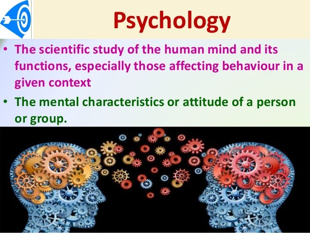 a look at the field of psychology and its application as a human science Applied psychology and the science of psychology benefit society  search  menu  it's difficult, if not impossible, to think of a facet of life where psychology is  not involved  constructing rigorous laboratory or field experiments to test the  hypothesis psychologists apply the understanding gleaned through research to  create.