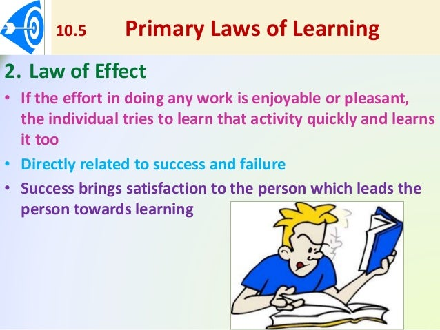 primary laws of learning