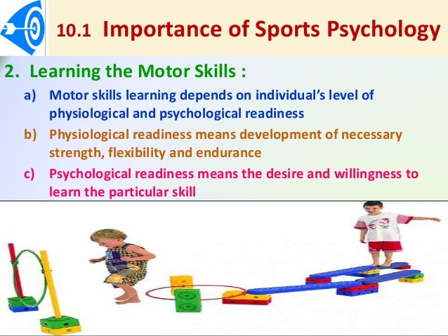 importance of activities psychology