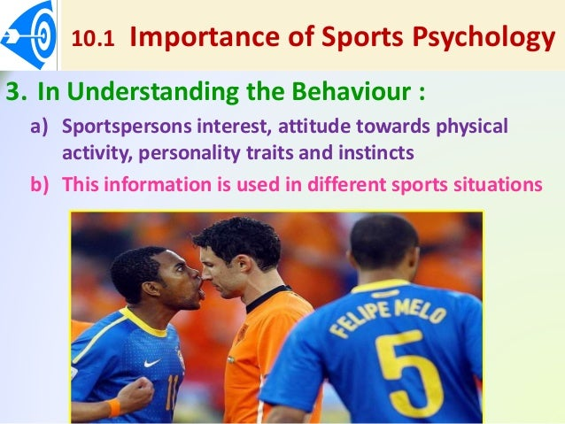 importance about sporting events psychology