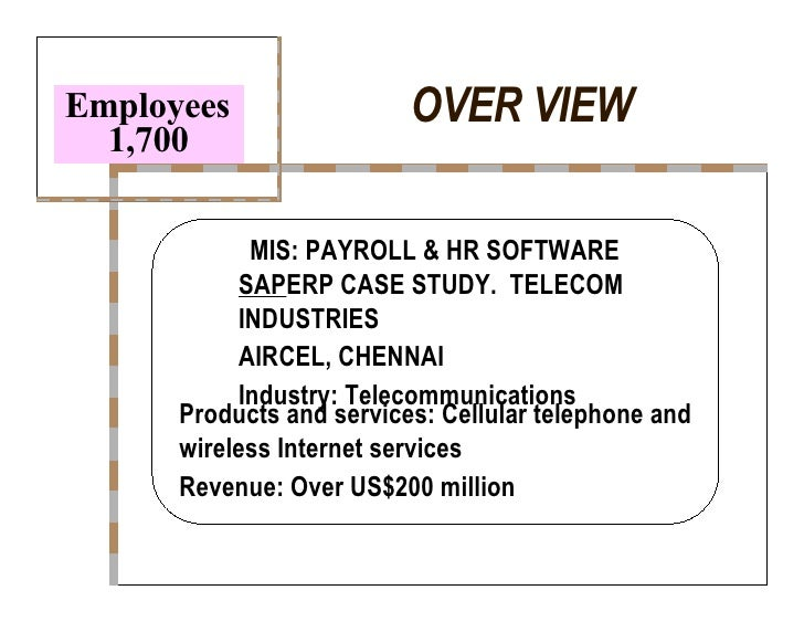 mis case study with solution india