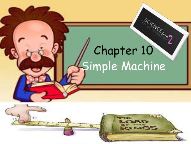 Chapter 10 Simple Machine