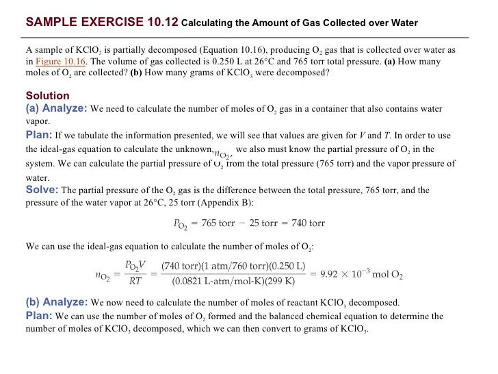 total pressure equation. solving the ideal-gas equation for we have; 22. total pressure