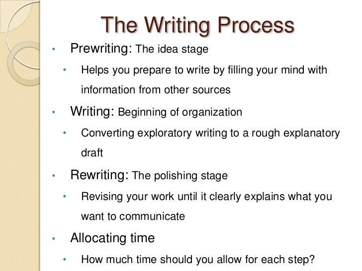 exploratory writing and explanatory writing