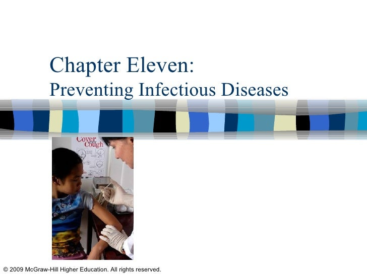 Chapter Eleven:  Preventing Infectious Diseases