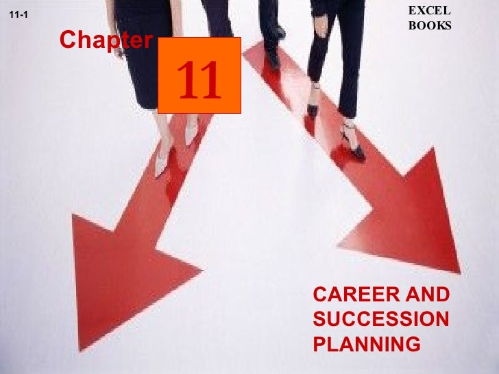 CAREER AND SUCCESSION PLANNING  Chapter EXCEL BOOKS 11-1 11