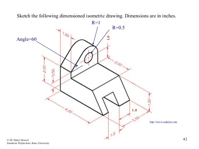 Simple Isometric Drawing With Dimensions – Articleblog info