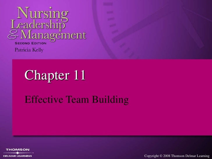 Chapter 11 Effective Team Building