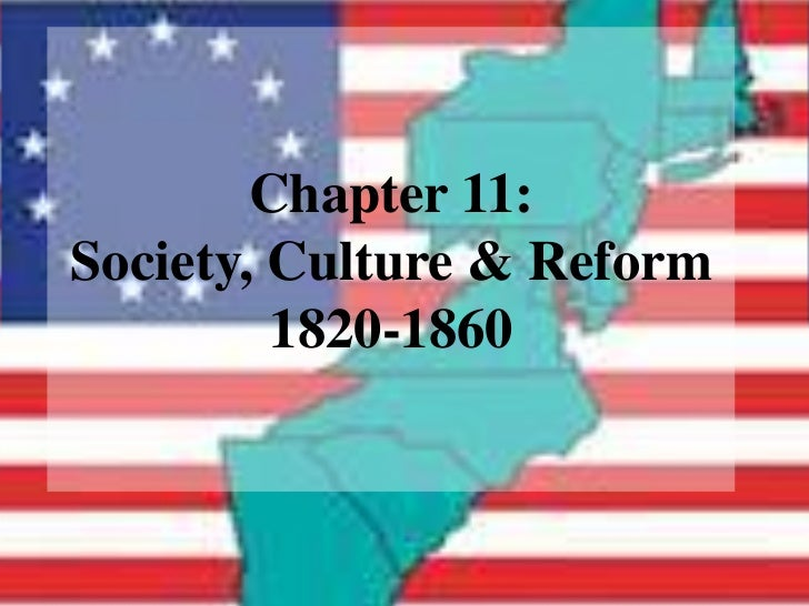 The Reform Community: 1820-60