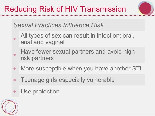 Are Their Vulnerable Girls Because Teenage Of Especially To Stis