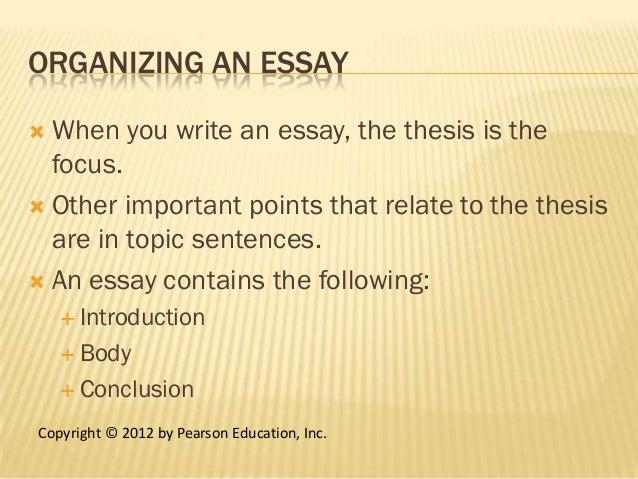 thesis fact pearson