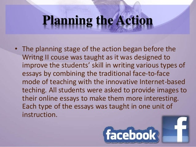 using facebook to enhance english department students skill in writi students 11