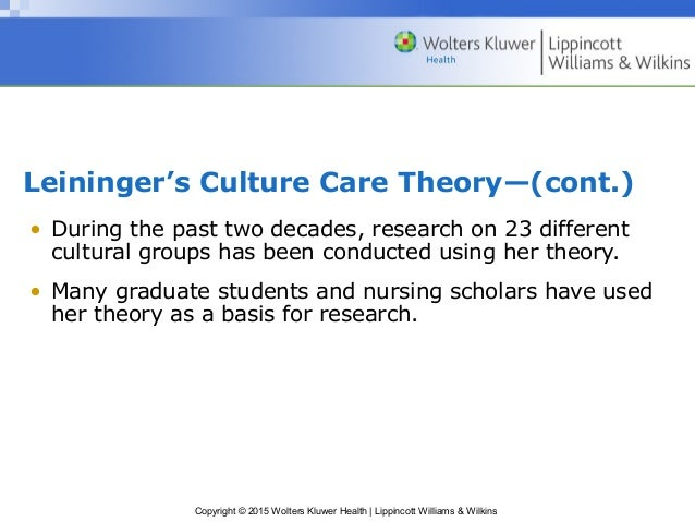 madeleine leininger bridging the cultural divide Key words: cultural awareness, cultural diversity, cultural  madeleine  leininger's theory on culture care, diversity, and universality is appropriate to   diffusion of innovation theory: a bridge for the research- practice.