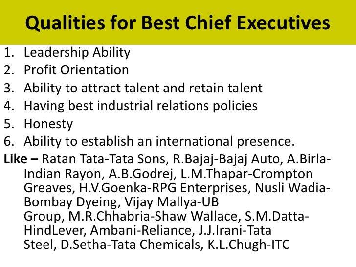 The qualities that make Ratan Tata a born leader