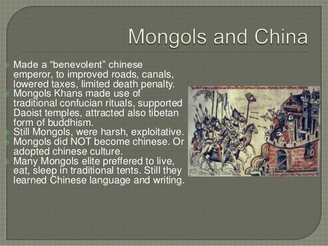 chapter 14 mongols Chapter 14 - the mongols tatars and tartars-crystal tsang tatars are a group of eurasian people living mostly in russia the group of around 55 million tatars.