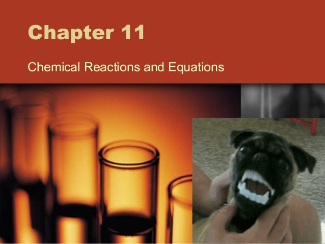 Chapter 11 Chemical Reactions and Equations