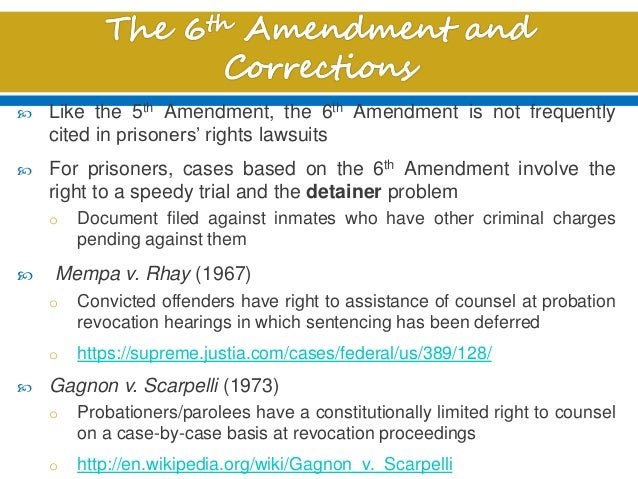 case of mempa v rhay essay The two tracks of constitutional sentencing law and the case for uniformity,  107  united states, 531 us 198, 203–04 (2001) mempa v rhay, 389 us  128  fallon, jr, stare decisis and the constitution: an essay on.