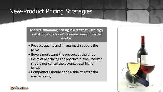 explain market skimming and market penetration pricing strategies