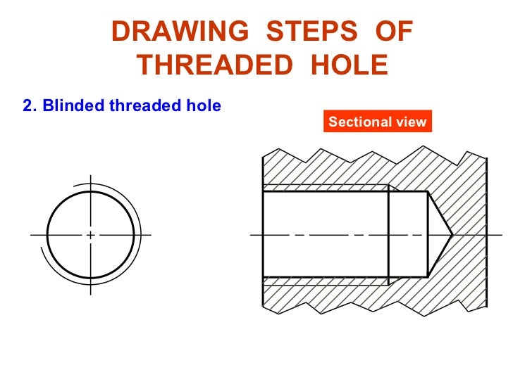 Engineering Drawing Chapter 11 Thread Fastener